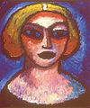 Alexej von Jawlensky Frauenkopf 1912.jpg