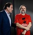 Alexis Tsipras, Oliver Stone, Slavoj Zizek (8752099718).jpg