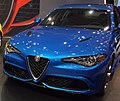 Alfa Romeo Giulia Quadrifoglio, 2017 Cleveland Auto Show.jpg