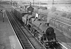 Alfreton railway station - Image: Alfreton and South Normanton railway station 2118132 8a 89a 5c 5