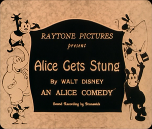 Alice Gets Stung - Image: Alice Gets Stung title card