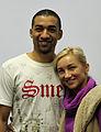 Aljona Savchenko und Robin Szolkowy bei der Olympia-Einkleidung Erding 2014 (Martin Rulsch) 01.jpg
