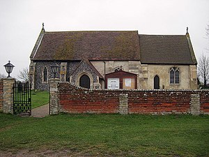 Wrabness - Image: All Saints, Wrabness geograph.org.uk 646075