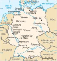Carte Geographique Allemagne Cologne.Geographie De L Allemagne Wikipedia
