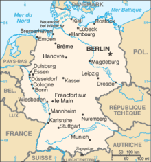 Description de l'image Allemagne carte.png.
