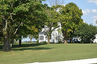 National Register of Historic Places listings in Bourbon County, Kentucky - Image: Allen Alexander House from southwest