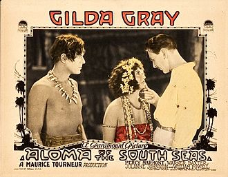Aloma of the South Seas (1926 film) - 1926 lobby poster