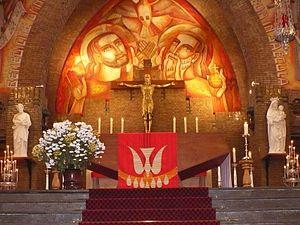 St. Joseph, Leiden - Image: Altaar St Josephkerk Leiden