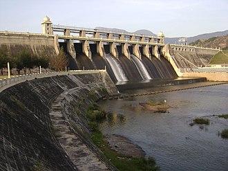 Amaravathi Dam - Image: Amaravathi Dam