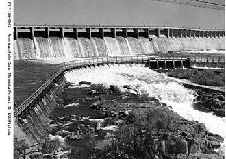 American Falls Dam - American Falls Dam (1947)
