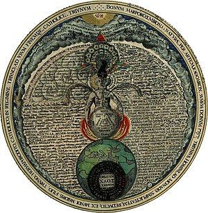 Baphomet - Androgyne of Heinrich Khunrath, Amphitheatrum Sapientiae Aeternae.