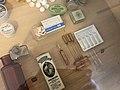 Ampulas in exposition History of making of drugs in Kuks Hospital in Kuks, Trutnov District.jpg