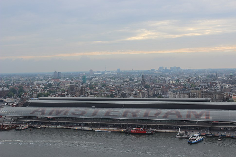 Amsterdam Heritage City View from Lookout