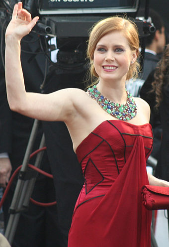 Adams at the 81st Academy Awards in 2009, where she received her second nomination for Best Supporting Actress for Doubt (2008) AmyAdamsOscarsFeb09.jpg