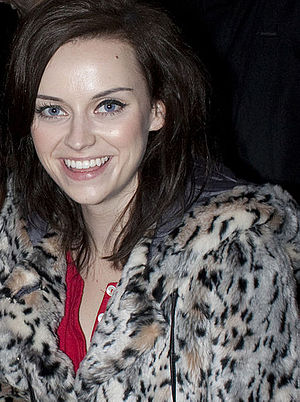 Amy Macdonald - Macdonald outside the O2 Academy in Newcastle upon Tyne in 2010.