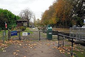 Caversham Lock - Caversham lock in 2012