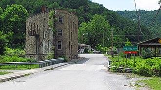 Anawalt, West Virginia - Jenkinjones Road in Anawalt