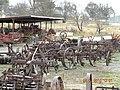 Ancient Farm Machinery opposite Guyra Railway Station - panoramio.jpg