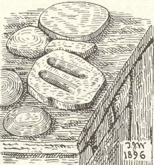 "Thomas Johnson Westropp - Ancient Irish ""charms"", sketch by Westropp"