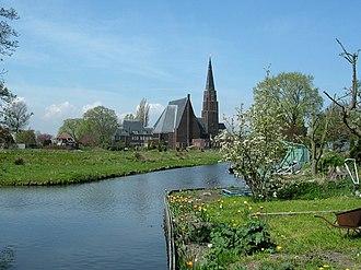 Andijk - Image: Andijk kerk