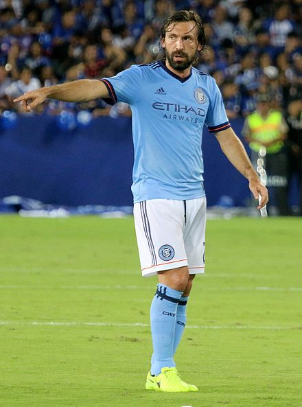 Pirlo with New York City in 2017. Andrea Pirlo 2017.jpg