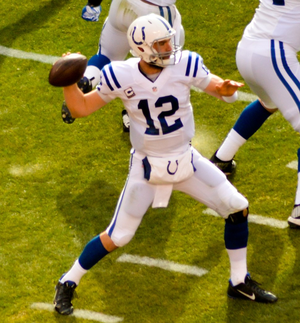 Andrew Luck vs Browns 2014