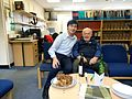 Andrew Schofield and Deryck Chan at Schofield Centre 2016.jpg