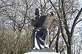 Andrey Rublev sculpture. Vladimir. Russia. Памятник Андрею Рублеву. Владимир. Россия - panoramio.jpg