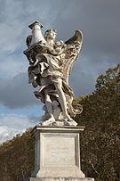 Angel on bridge of angels in Rome.JPG