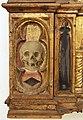Angelo e bartolomeo degli erri, polittico dell'ospedale della morte, 1462-66, predella 01 teschio.jpg