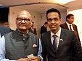Anil Agarwal and Abhishek Suryawanshi at 2017 FICCI - IIFA Global Business Forum 01.jpg