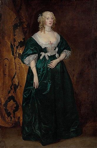Susan de Vere, Countess of Montgomery - Lady Anne Sophia Herbert, daughter of the Earl of Pembroke. Anne was married to Robert Dormer, 1st Earl of Carnarvon.