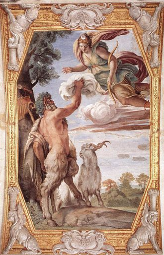 The Loves of the Gods - Image: Annibale Carracci Homage to Diana WGA04460