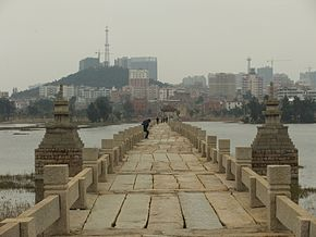 Anping Bridge - west-central part - looking west - DSCF9102.JPG