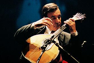 Portuguese guitar - António Chainho and his Portuguese guitar (Lisbon model)