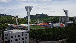 Anyang Sports Complex Football stadium in Anyang