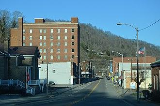 Appalachia, Virginia - Main Street looking northeast