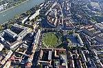 Aquincum katonai (katonavárosi) amfiteátruma - látkép a magasból.jpg
