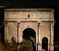 Arch of Septimius Severus at night.jpg
