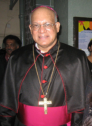 Archbishop Oswald Gracias of the Bombay Dioces...