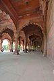 Arches and Royal Platform with Marble Canopy - Diwan-i-Am - Red Fort - Delhi 2014-05-13 3224-3229 Compress.JPG