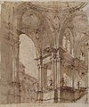 Architectural Study (recto); Separate Sheet with Architectural Drawing (verso) MET 35.115 RECTO.jpg