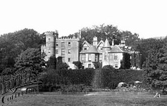 Ardencaple Castle - Image: Ardencaple Castle 1901