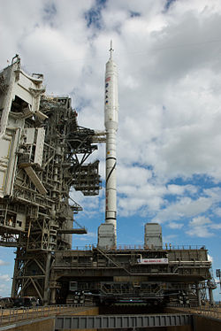 Ares I-X on LC 39B closeup.jpg