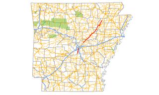 Arkansas Highway 367 highway in Arkansas