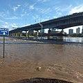 Arkansas River Flooding at North Little Rock May 2019.jpg