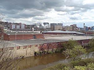 ITV Yorkshire - Former Arla Foods site, Kirkstall Road, occasionally YTV filming location.