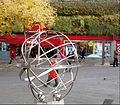 Armillary in Trinity Square Sutton, Surrey, Greater London.JPG