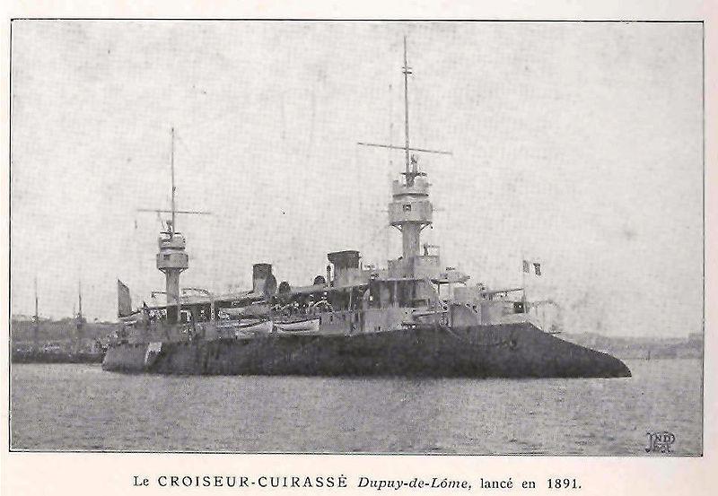 DDG-1000 Zumwalt le nouveau joujou de la marine américaine ! 800px-Armoured_cruiser_Dupuy_de_L%C3%B4me
