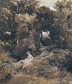 Arnold Böcklin - Nymphe an einem Brunnen (1855).jpg